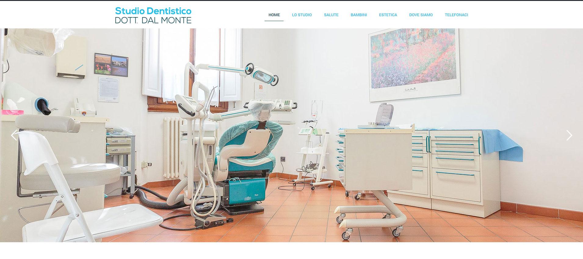 Siti Web Firenze - Studio Dentistico Dott. Dal Monte